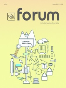 Cover forum Commons